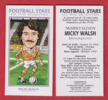 Blackpool Micky Walsh Eire 11